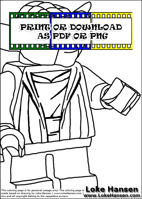 yoda head coloring pages - photo#37