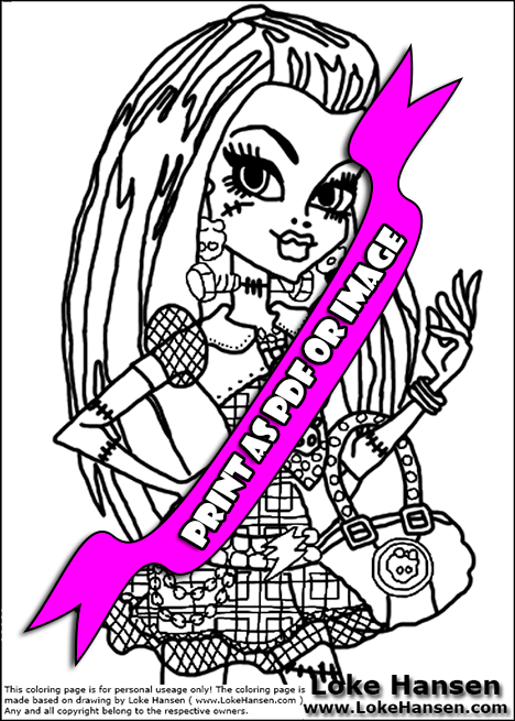 pin monster high coloring pages venus mcflytrap on pinterest