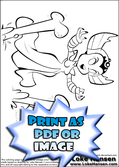 funnybone skylander coloring pages - photo#20